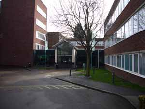 Newport Pagnell Building Entrance