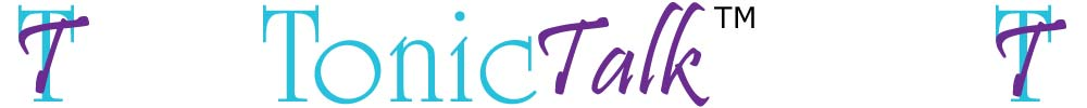 TonicTalk Counselling & Psychotherapy Site Logo
